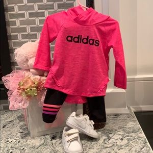Adidas jogging suit for 12 month old
